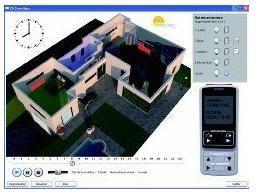 CD n°2==> logiciel de simulation domotique